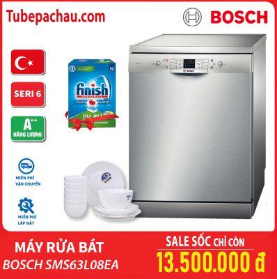 Mã máy rửa chén SMS63L08EA seri 6